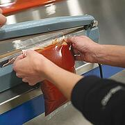 cook chill bag & hand sealer