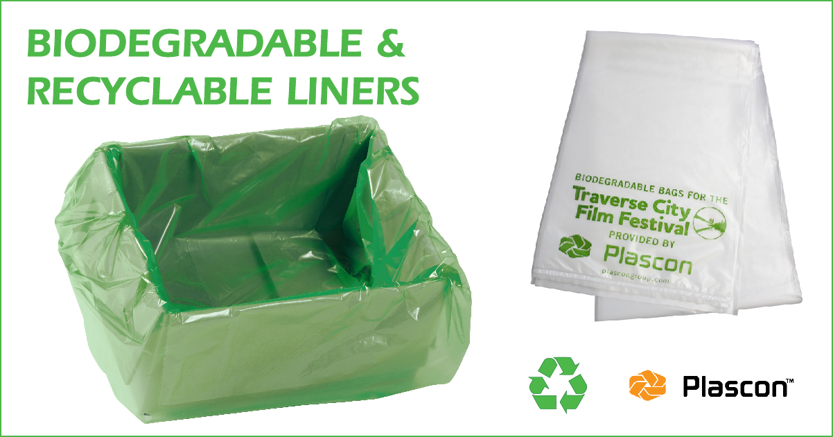 Biodegradable and Recycl Box Liners