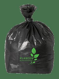 Black Biodegradable Bag