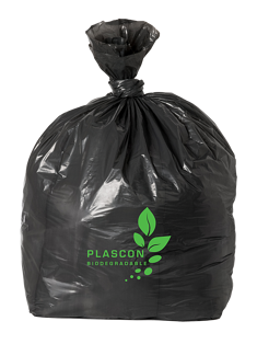 Black Biodegradable Bag