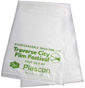 Traverse City Film Festival Biodegradable Bag