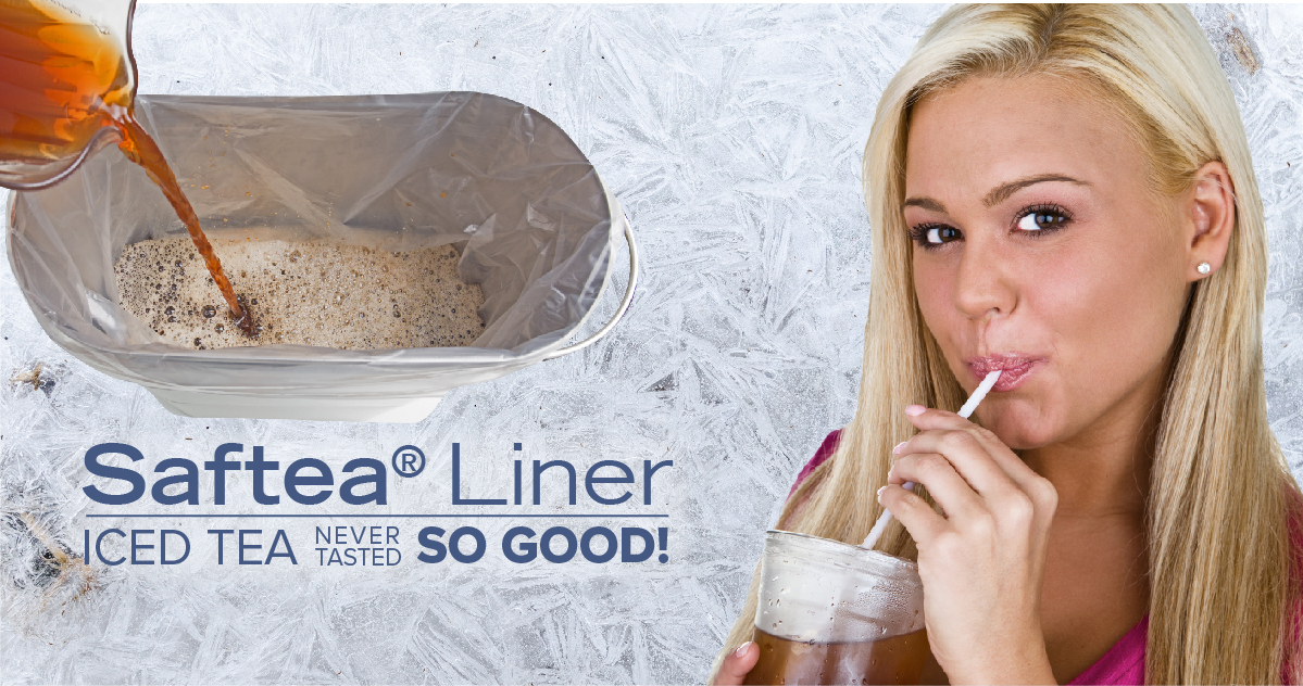 Saftea Liner: Iced tea never tasted so good!