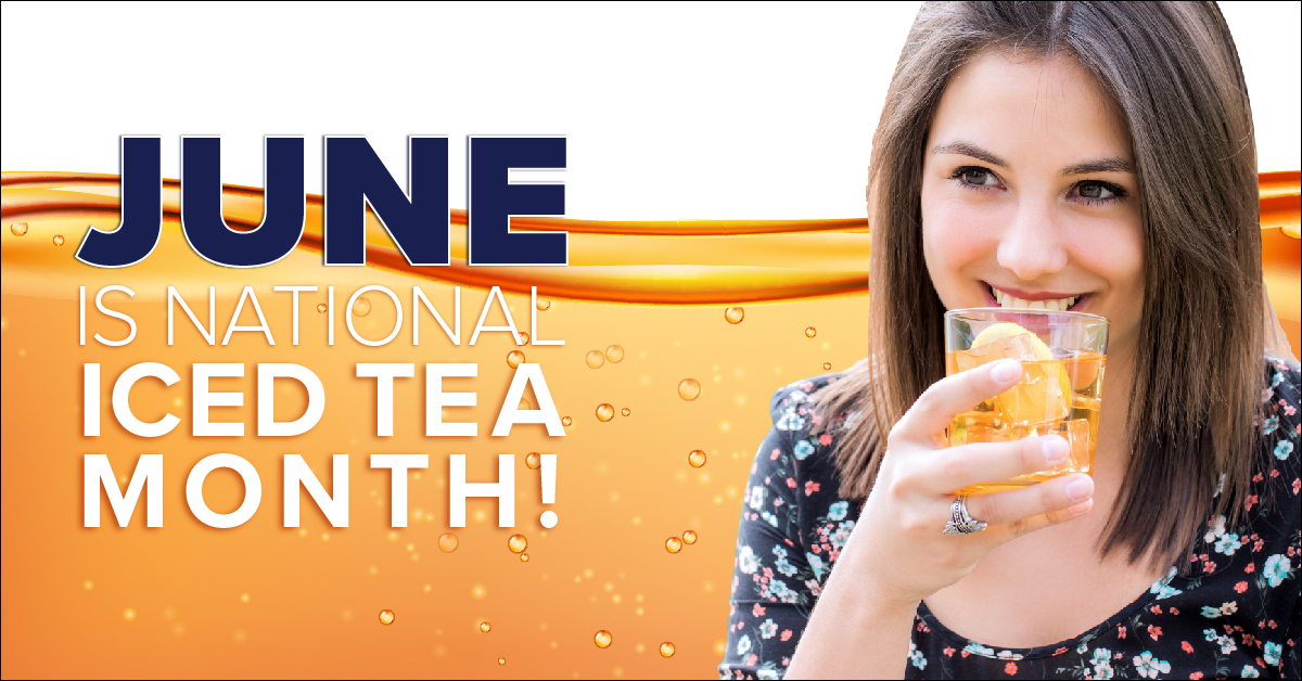 June is National Ice Tea Month