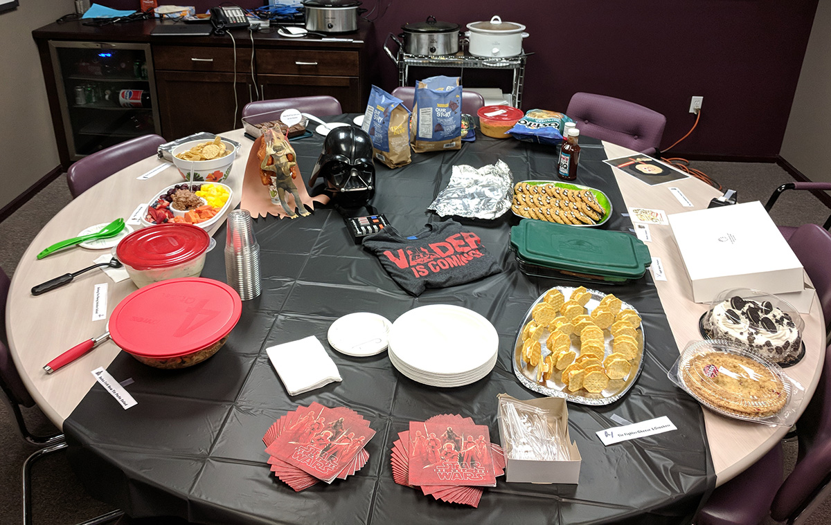 May The Fourth Be With You Potluck Lunch