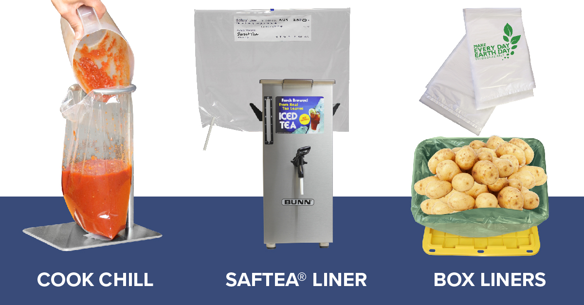 Plascon Cook Chill Bags, Saftea Liner and Box Liners