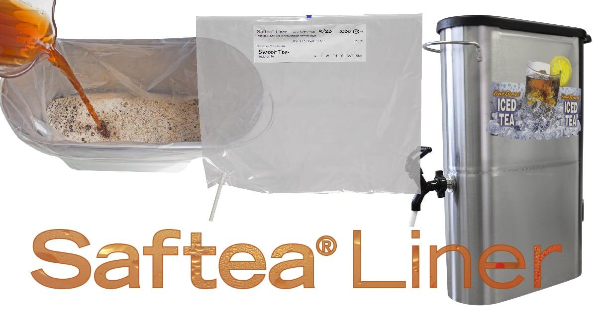 Saftea Liner tea urn dispenser liner