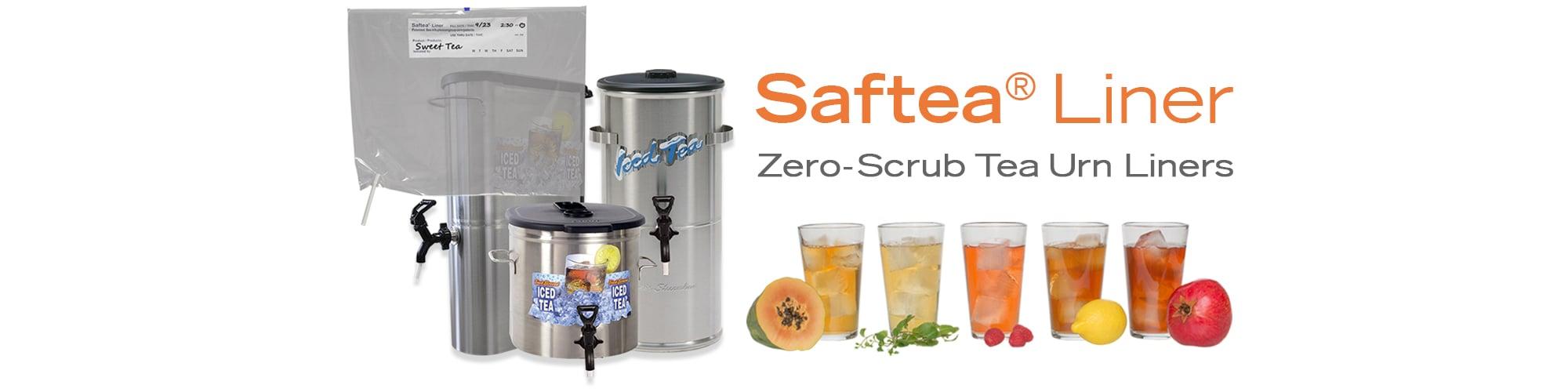 Saftea® Liner Zero Scrub Tea Urn Liners