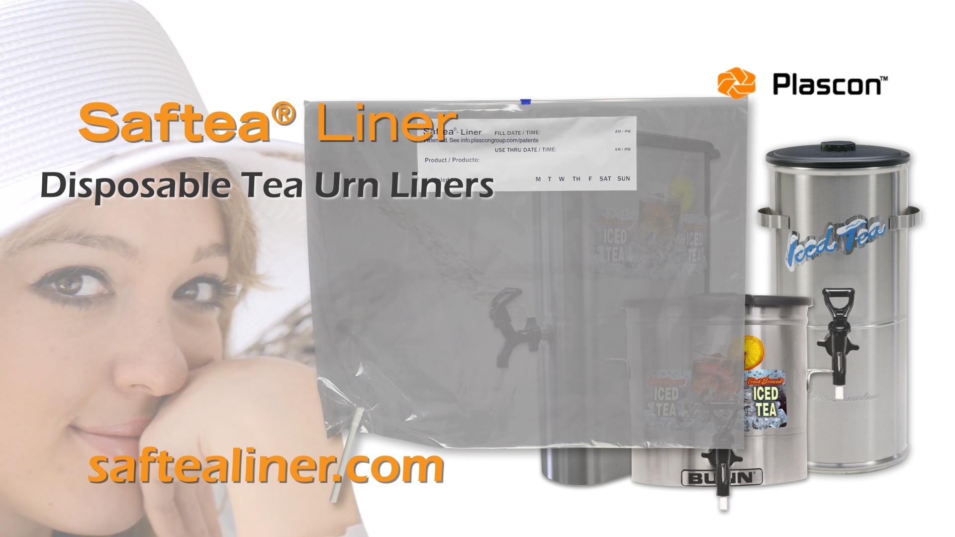 Saftea® Liner disposable tea urn liner