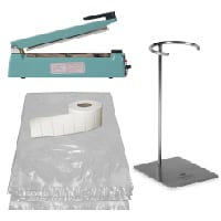 Cook Chill Starter Set with Ring Stand & Hand Sealer