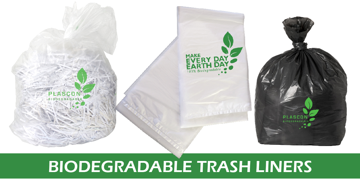 biodgradable trash liners