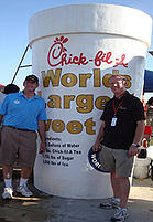 chick-fil-a giant iced tea cup