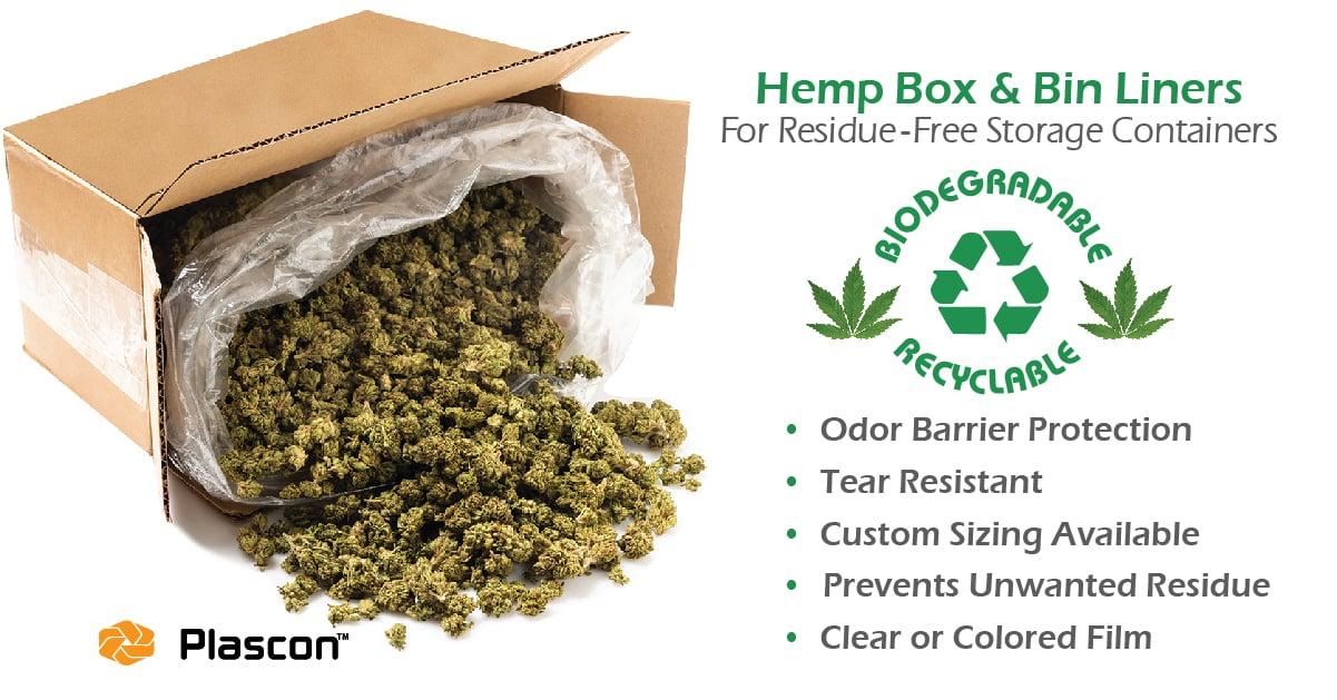 hemp box liners