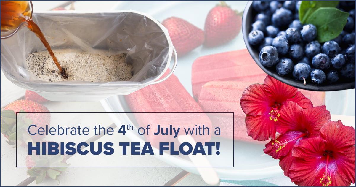 hibiscus tea float