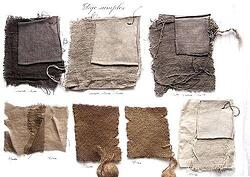 how-to-tea-dye-fabric-walnut-iron-dye-recipe-dye-color-test-by-natural-dying-tea-dye-polyester-fabric