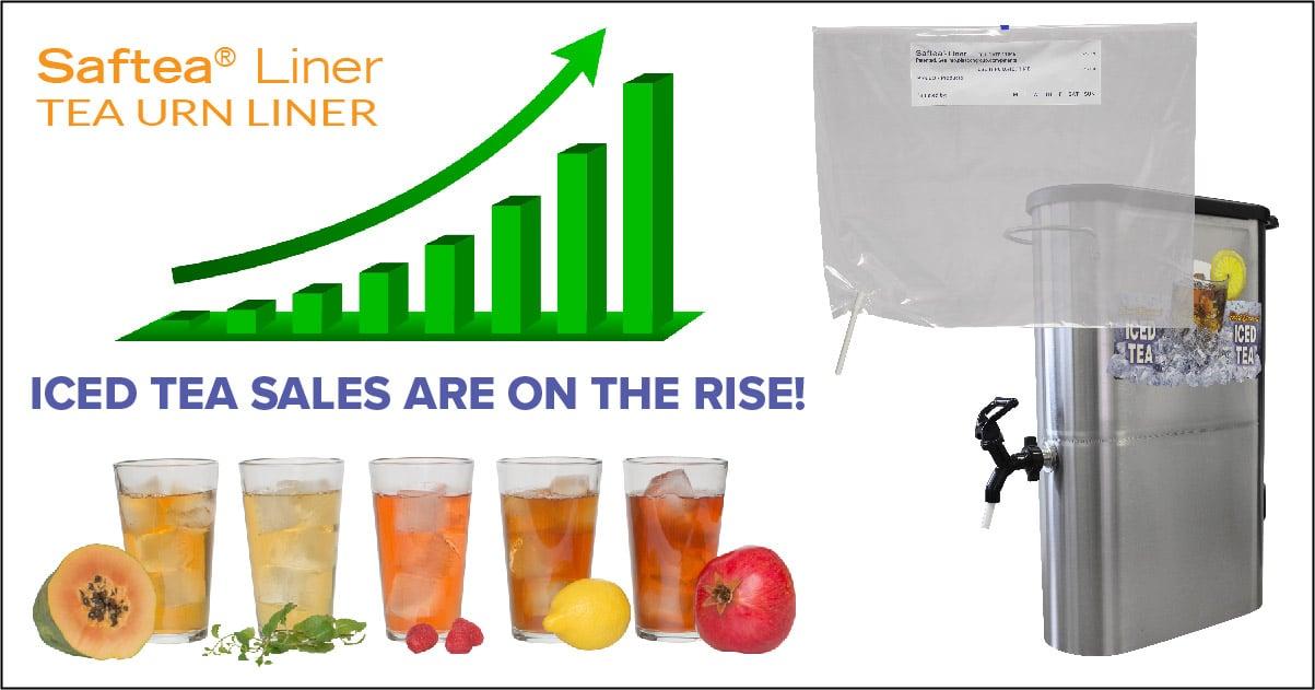 iced tea sales on the rise