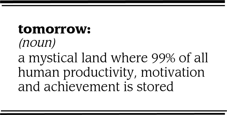 procrastination definition