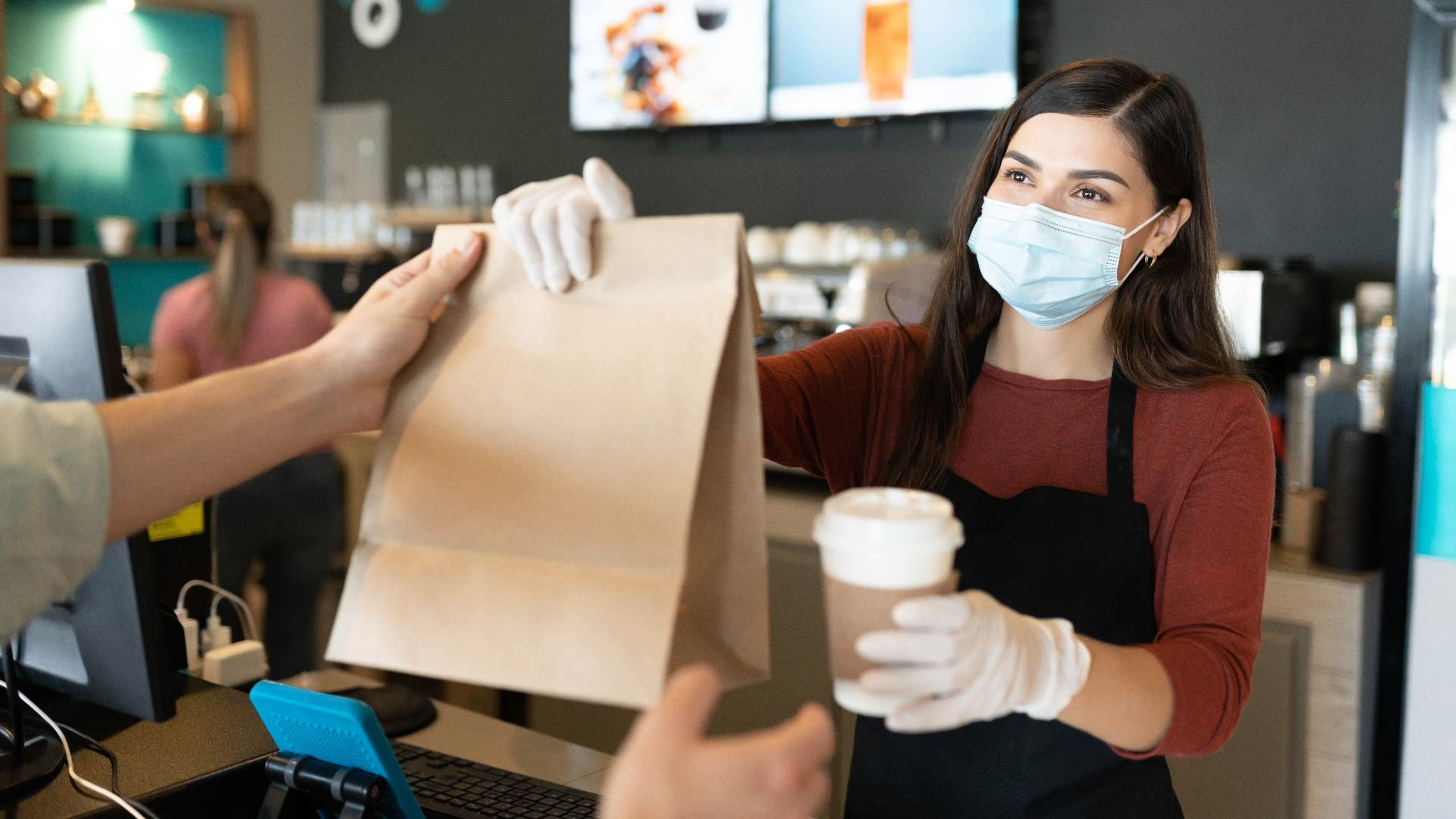 restaurant carryout facemask