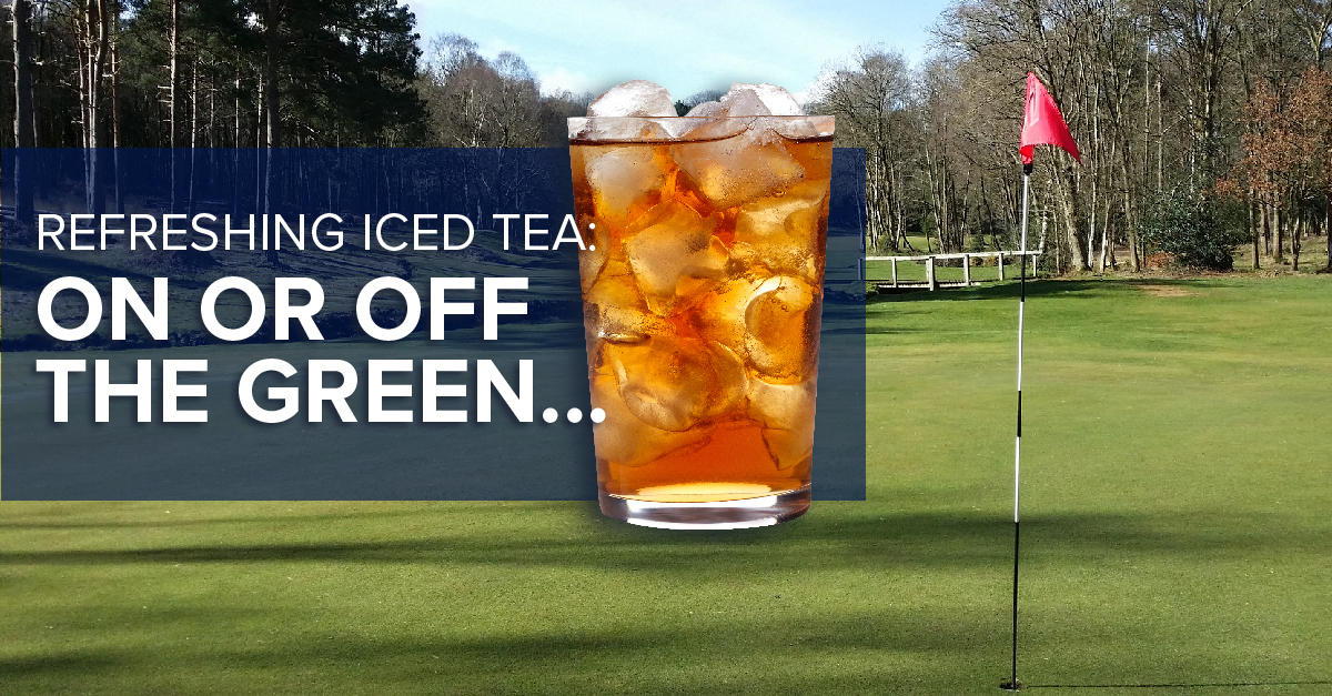 Serve your iced tea with Saftea Liner to ensure the highest quality, taste, and safety protocols.