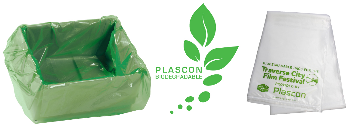 Earth Day Biodegradable Bags & Liners