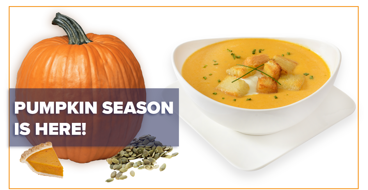 The Cook Chill method is ideal for large batch pumpkin soups, and more!