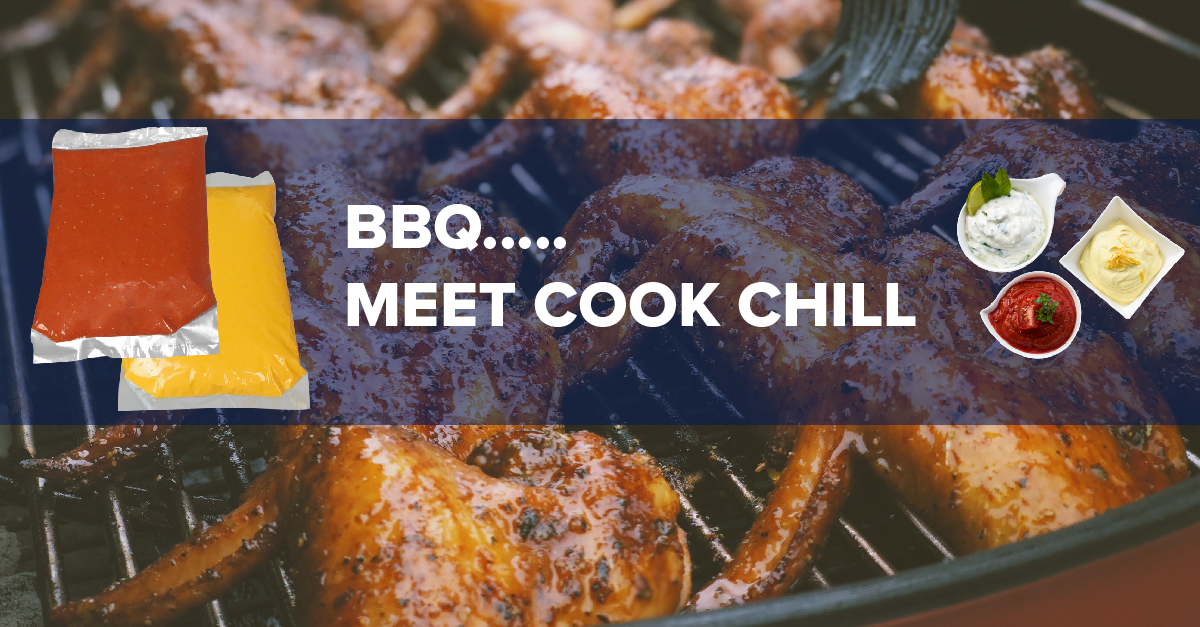 Cook Chill Bags are perfect for sauces and marinades