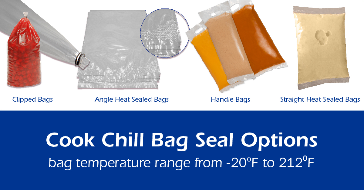 cook chill bag seal options