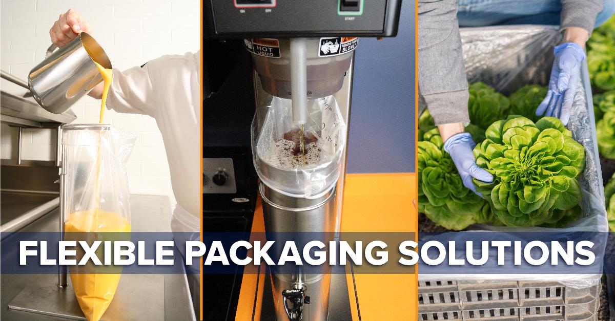 food grade flexible packaging solutuions