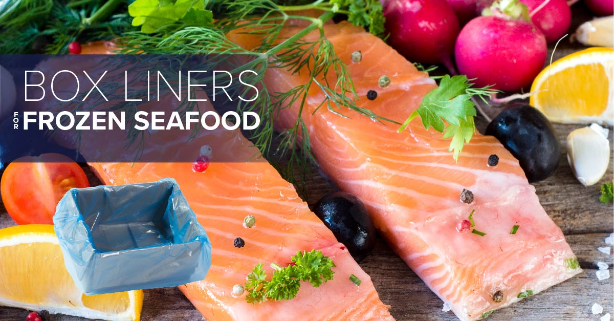 food grade Box Liners for seafood packaging
