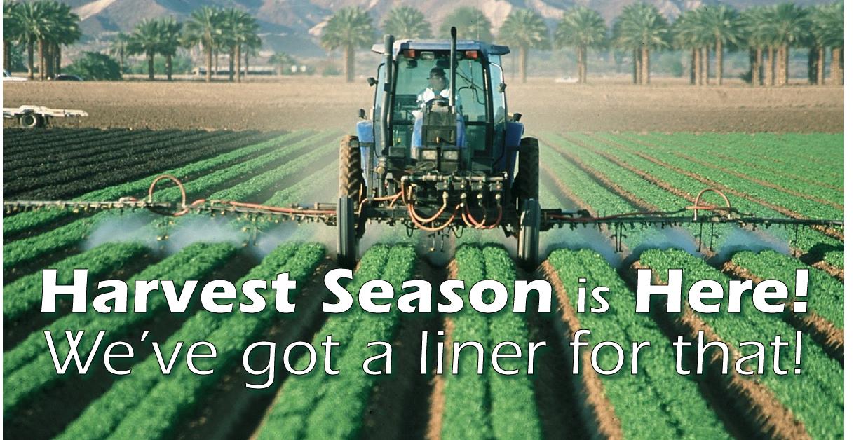 harvest season is here